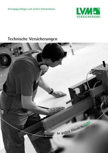 Technische Versicherungen - LVM Versicherung