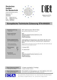 Europäische Technische Zulassung ETA-05/0253 - 30%