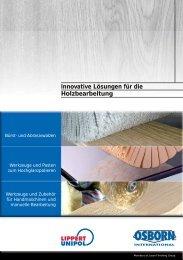 Innovative Lösungen für die Holzbearbeitung - OSBORN-International