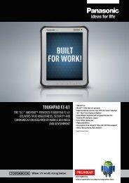 TOUGHPAD FZ-A1 THE 10.1