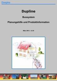 Technische Dokumentation und Planungshilfe - Doepke