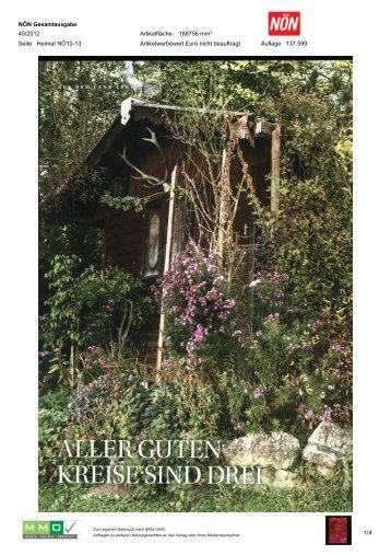 NÖN Gesamtausgabe - Natur im Garten