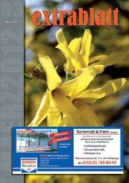 Ausgabe März 2012 - mein extrablatt