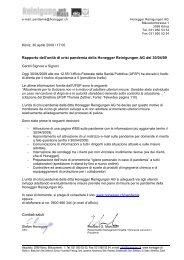 Allgem. Brief-Vorlage mit Eingabefenster - Honegger AG