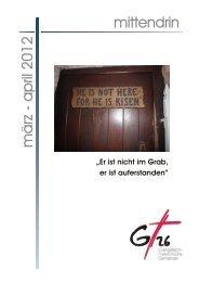 Neuer Tauf - Evangelisch-Freikirchliche Gemeinde Gera