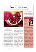 Gebete und Unterricht Oktober 2010 Tischrei/Cheschwan 5771 - Page 6