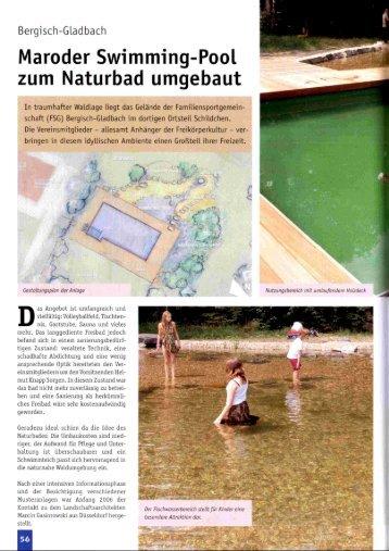 Der Schwimmteich 2008 - Marcin Gasiorowski