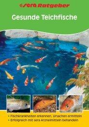 Gesunde Teichfische - sera GmbH