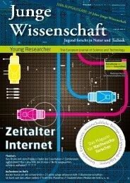 Download Leseprobe 90 als PDF - Junge Wissenschaft