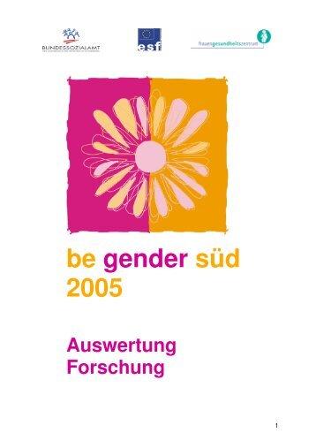 3. Analyse der Lebens- und ... - Frauengesundheitszentrum Graz