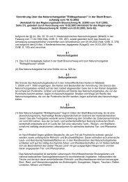 Verordnung über das Naturschutzgebiet