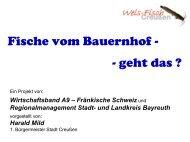 Regionalmanagement Stadt- und Landkreis Bayreuth - Amt für ...