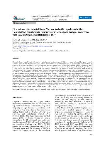 Download article (Open Access) - Aquatic Invasions