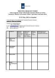 MEETING REQUEST FORM 23-25 May 2012 to Istanbul