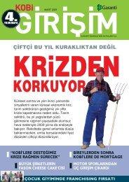 Mart 2009 KOBİ Girişim Dergisi - Garanti Bankası