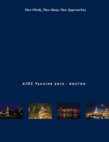 Oral Abstract Session 01 - Global HIV Vaccine Enterprise