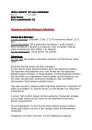 Rezepte PDF - ORF Kundendienst