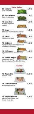 Speisekarte - Shinyu - Sushi House - Seite 4
