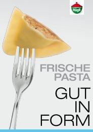 Frische Pasta - bei Hügli Food Service