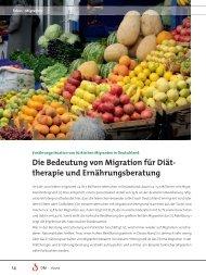 Die Bedeutung von Migration für Diät- therapie und ...
