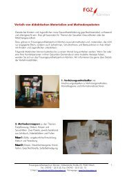 Lehrmaterialien Verleih Sep10 - Frauengesundheitszentrum