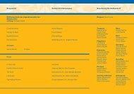 Programm Besetzung Herbstkonzert - Musikverein Frohsinn Ruggell