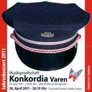 30. April 2011 - MG Konkordia