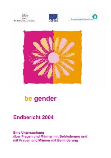 4 be gender - Frauengesundheitszentrum Graz