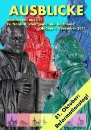 Manfred Beck - Evangelische Noah-Kirchengemeinde Dortmund