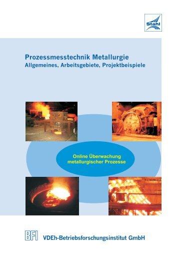 Prozessmesstechnik Metallurgie - BFI.de