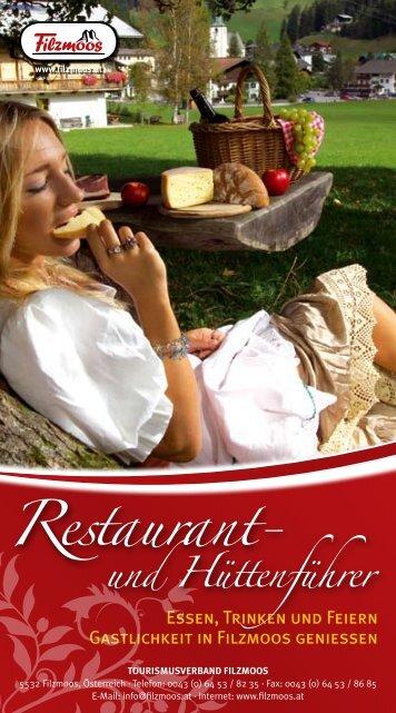 Restaurant- - Filzmoos