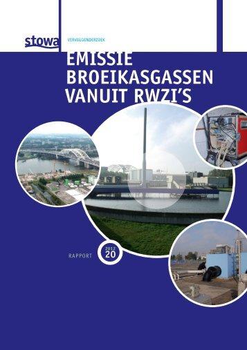 EMISSIE BROEIKASGASSEN VANUIT RWZIlS - E-depot
