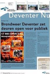 Brandweer Deventer zet deuren open voor publiek - Gemeente ...