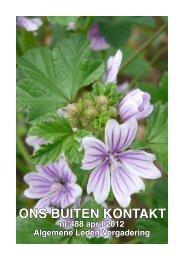 TuinKunst Zondag 10 juni 2012 11.00 - Tuinpark Ons Buiten