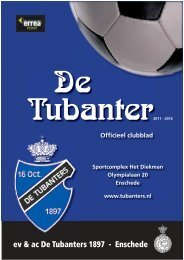 Clubblad November 2011 - De Tubanters 1897