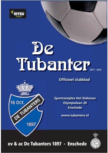Clubblad November 2011 - De Tubanters 1897