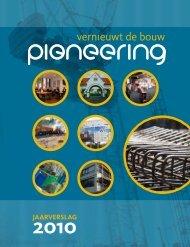 digitale jaarverslag 2010 - Stichting Pioneering