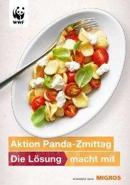 Panda-Znüni und - WWF Schweiz
