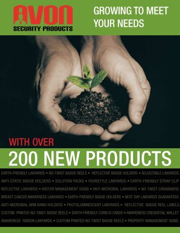 WITH OVER GROWING TO MEET YOUR NEEDS - Avon Security ...
