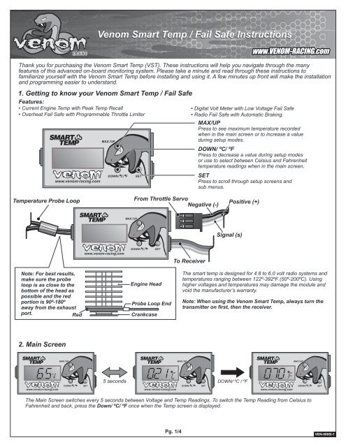 Venom Smart Temp - HRC Distribution