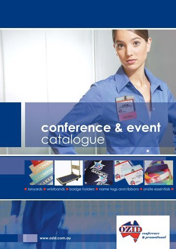 Conference & Event Catalogue - Download - OZID