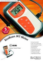 EcoScan Temp JKT Leaflet - Eutech