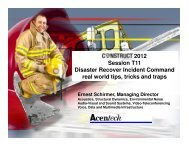 Disaster Recovery Incident Command: real world tips, tricks
