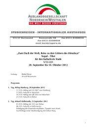 Nepal - Tibet für den Kulturkreis Stade 5/12-221 20. September bis ...