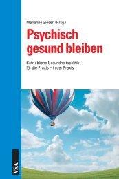 Psychisch gesund bleiben - Arbeitgeber Arbeitnehmer Assistenz ...