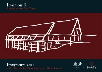Broschuere D 2011 - ZendojoFreiburg