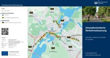 Umweltorientierte Verkehrssteuerung - Mobil in Potsdam