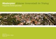 Masterplan Ahlener Innenstadt im Trialog - Davids Terfrüchte + Partner