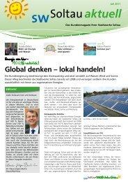 aktuell - Stadtwerke Soltau GmbH