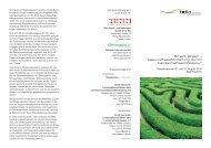 Smart Green Veranstaltungsprogramm - bdla Hessen